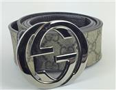 GUCCI GG SUPREME BELT WITH G BUCKLE SIZE 44